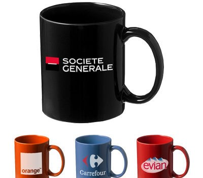 Mug avec logo un objet vraiment promotionnel et utile des évènements