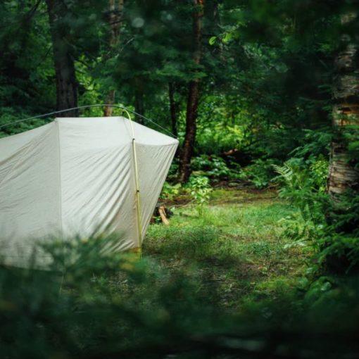 tente de camping plein air