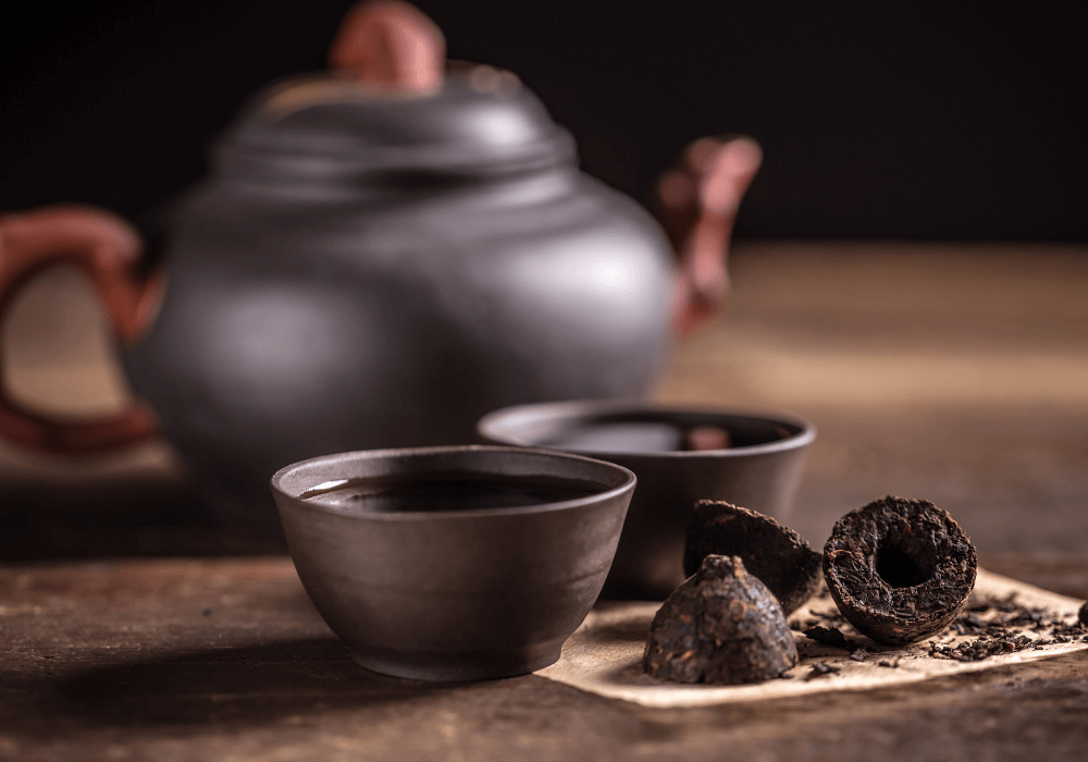thé puerh de qualité